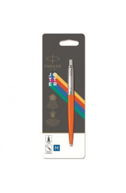 Ручка шариковая Parker JOTTER 17 Plastic Orange CT BP блистер 15 436