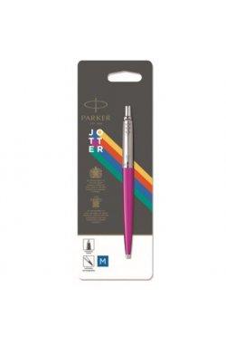 Ручка шариковая Parker JOTTER 17 Plastic Pink CT BP блистер 15 536