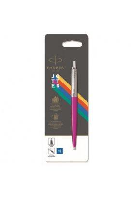 Ручка шариковая Parker JOTTER 17 Plastic Pink CT BP блистер 15 536, Корпус - Розовый, Франция