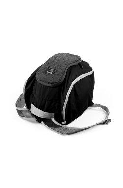 Рюкзак-сумка Peanut, черная - 1340
