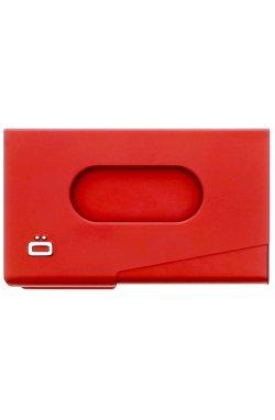 Визитница OGON One Touch, красная - 1351