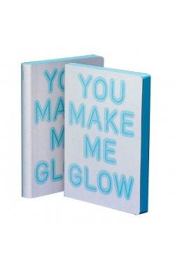 Блокнот You make me glow, серии Graphic - 4135