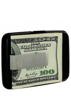 Визитница OGON Stockgolm Money Clip, черная - 6546