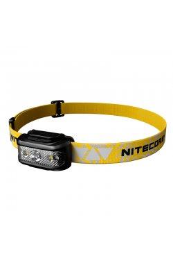 Фонарь налобный Nitecore NU17 (CREE XP-G2 S3 LED + RED LED, 130 люмен, 9 режимов, USB)