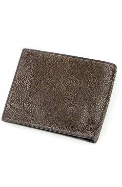 Бумажник мужской STINGRAY LEATHER 18566 из натуральной кожи морского ската Кори
