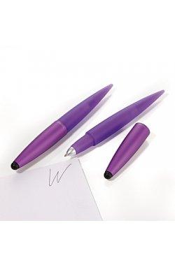 Ручка шариковая со стилусом Комфорт, фиолетовая - 1546