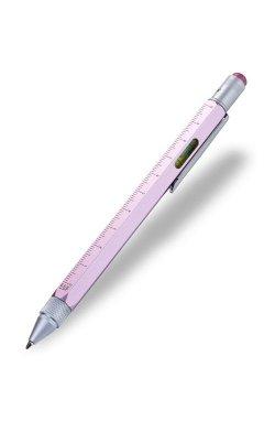 Ручка шариковая-стилус Construction с линейкой - 3579