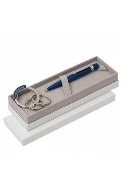 "Набор ""Cacharel"" ручка+брелок синяя - 4595"