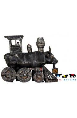Коллекционная статуэтка корова Moo Choo-All Aboard! - 3935