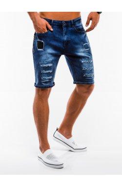 Шорты мужские джинсовые W131 - Синий