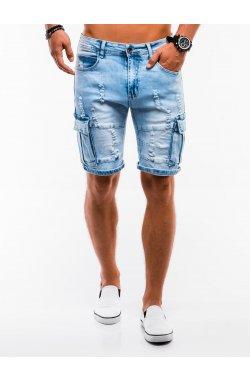 Шорты мужские джинсовые W132 - jasny jeans