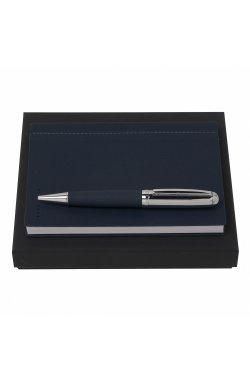 Набор Hugo: записная книжка + шариковая ручка - 4923