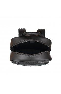 Рюкзак Tiding Bag B3-8603A - Натуральная кожа, черный
