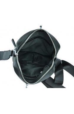 Мессенджер Tiding Bag NM17-9132-2A - Натуральная кожа, черний