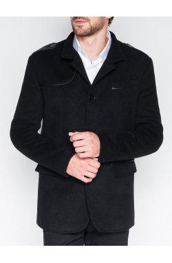 Men's coat C92 Augustin - черный
