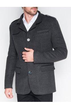 Men's coat C92 Augustin - Темно- Серый