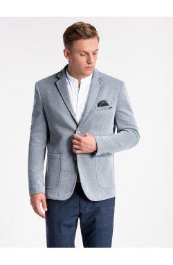 Пиджак мужской кэжуал P56 - Серый