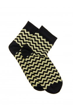 Patterned men's socks U11 - желтый