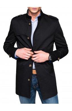 Men's coat C269 - черный