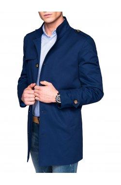 Men's coat C269 - Синий