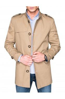 Men's coat C269 - бежевый