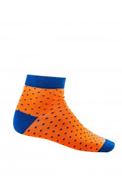 Patterned men's socks U14 - оранжевый