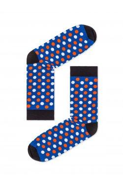 Patterned men's socks U21 - голубой
