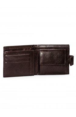 Men's leather wallet A089 - коричневый