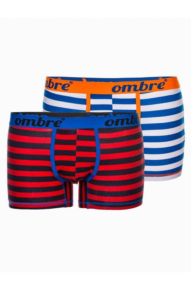 Men's underpants U38 - голубой/Белый 2-pack mix