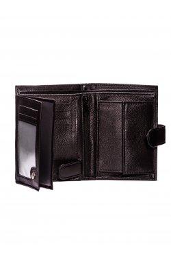 Men's leather wallet A084 - коричневый