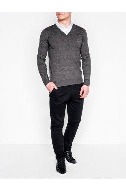 Джемпер мужской 120 - Темно- Серый/меланж