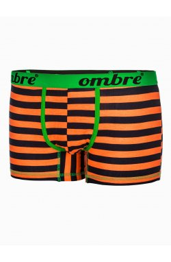 Men's underpants U37 - голубой/оранжевый 2-pack mix