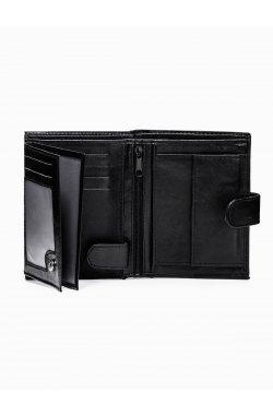 Men's wallet A155 - черный