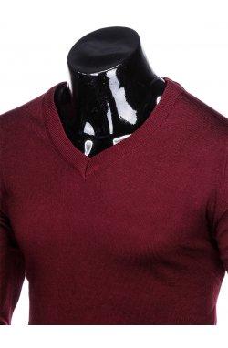 Джемпер мужской 151 - Темно- красный
