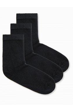 Men's socks U61 - черный 3-pack