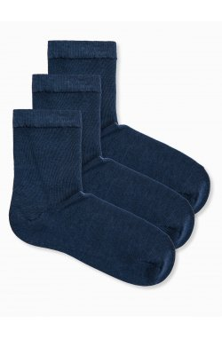 Men's socks U61 - Синий 3-pack