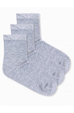 Men's socks U61 - Серый 3-pack