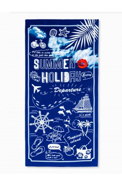 Beach towel A194 - Синий