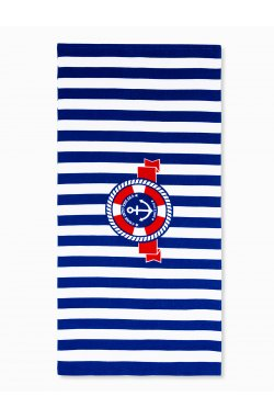 Beach towel A196 - Синий