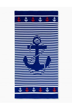Beach towel A193 - Синий
