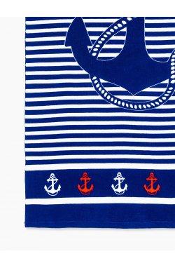 Beach towel A193 - Синий