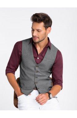 Men's vest V45 - черный