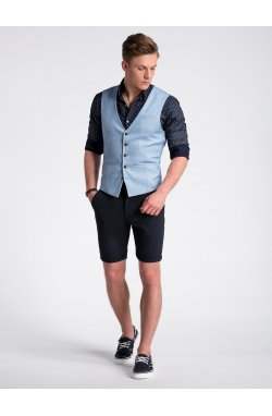 Men's vest V45 - светло - голубой