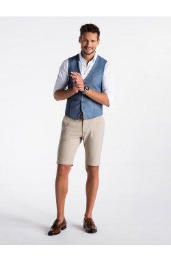 Men's vest V45 - голубой