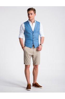 Men's vest V46 - Темно- голубой