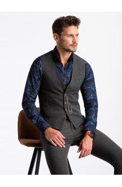 Men's vest V47 - Темно- Серый