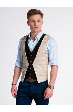 Men's vest V49 - Рыжий