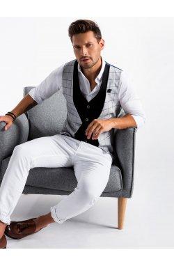 Men's vest V49 - Серый