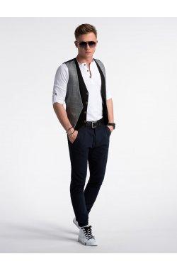 Men's vest V49 - черный
