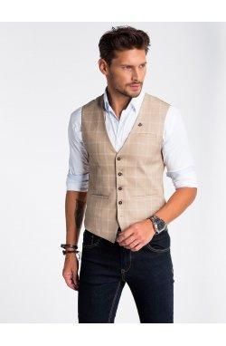 Men's vest V50 - бежевый